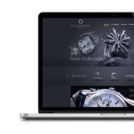 Alexandros Jewelry Website