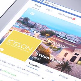 Kydon Hotel Facebook